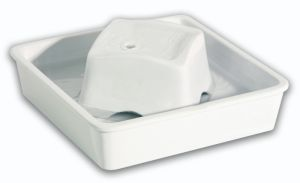 Pioneer Pet Ceramic White Drinking Fountain