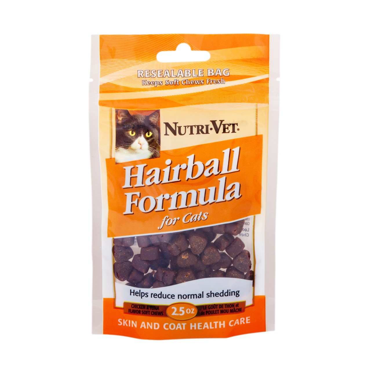Nutri-Vet Hairball Formula Chicken and Tuna Flavor