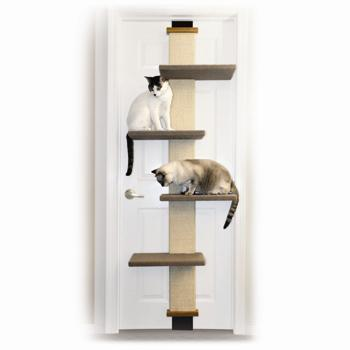 SmartCat Cat Climbing Trees
