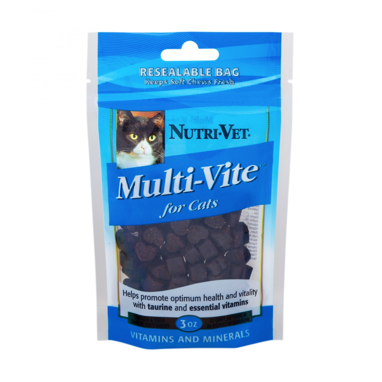 Nutri-Vet Mutli Vite Chicken Tuna Flavor Soft Chews