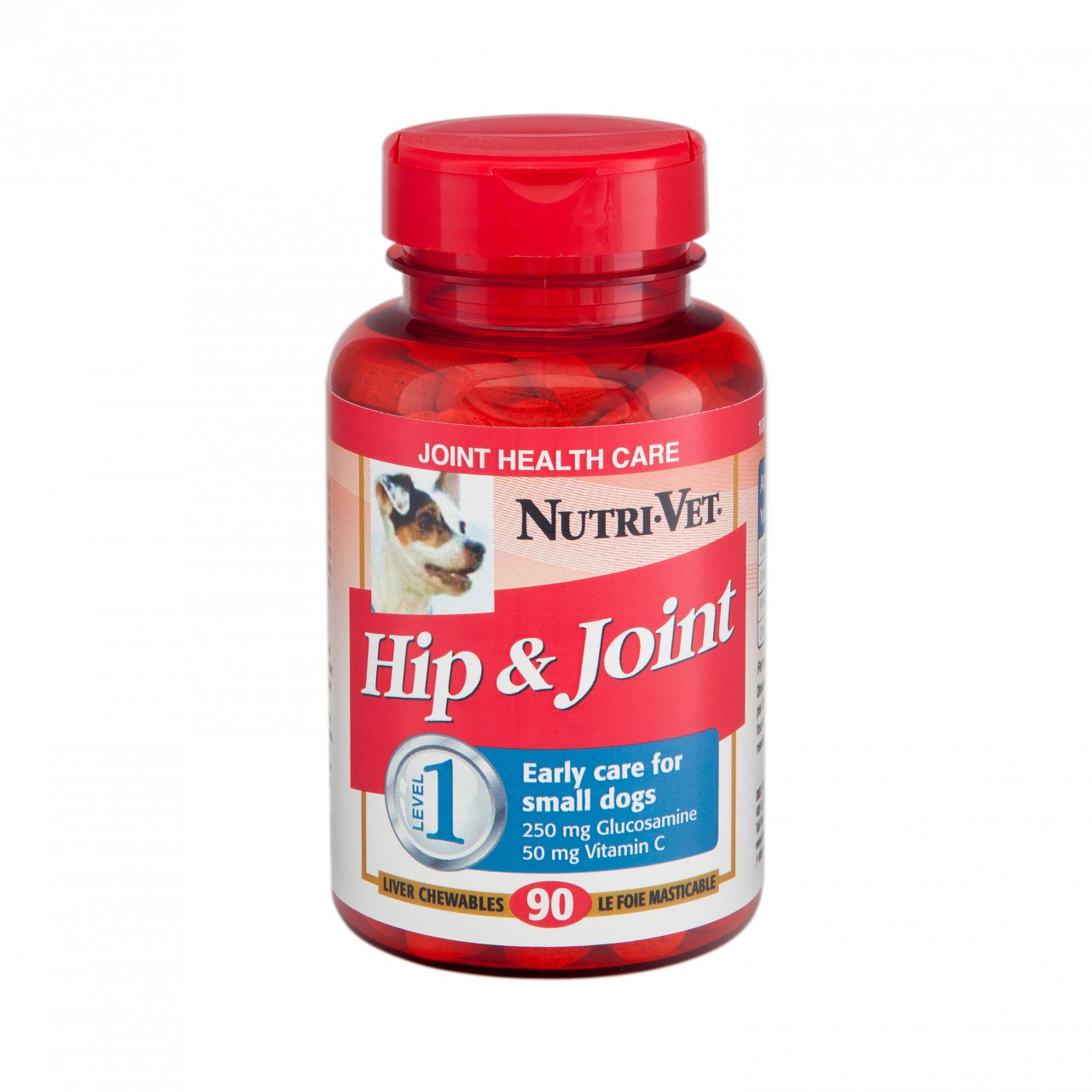 Nutri-Vet Hip & Joint Level 1 Chewables for Small Dogs
