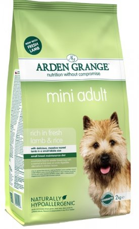 Arden Grange Adult Dog rich in Lamb & Rice (mini) 4.4lb