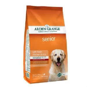 Arden Grange Adult Dog Senior w/Fresh chicken & rice 4.4lb