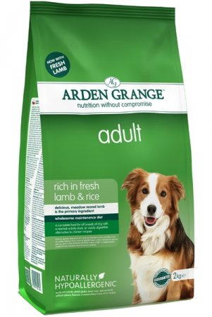 Arden Grange Adult dog rich in Lamb & Rice 4,4lb