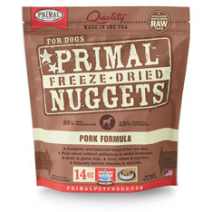 Primal Freeze Dried Canine Pork 14oz