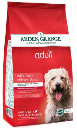 Arden Grange Adult dog w/ Fresh Chicken & Rice 4.4lb
