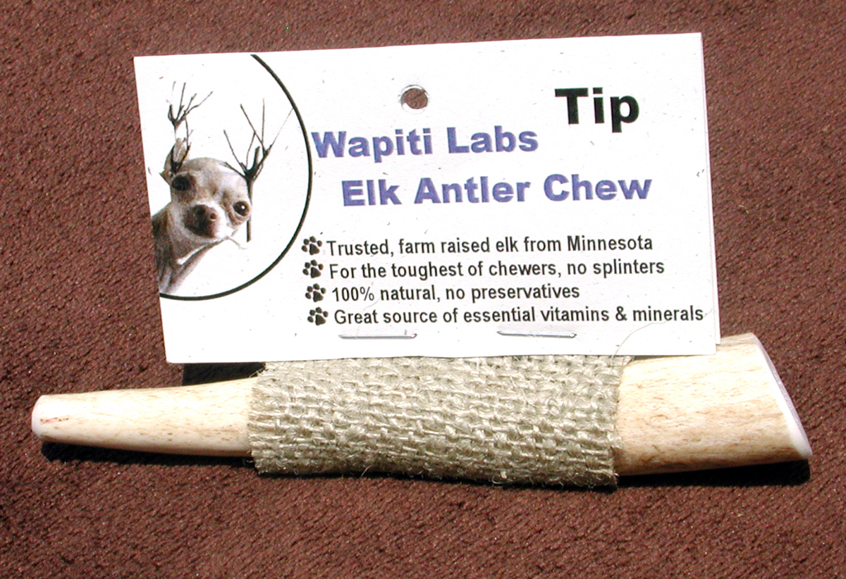 ELK Antler Chews (Tips)