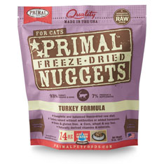 Primal Freeze Dried Feline Turkey 14oz