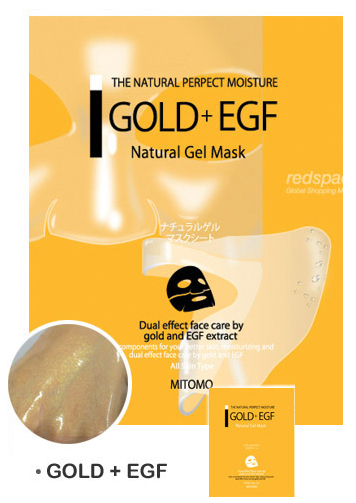 Mitomo Natural Gel Mask MT3 Gold +EGF