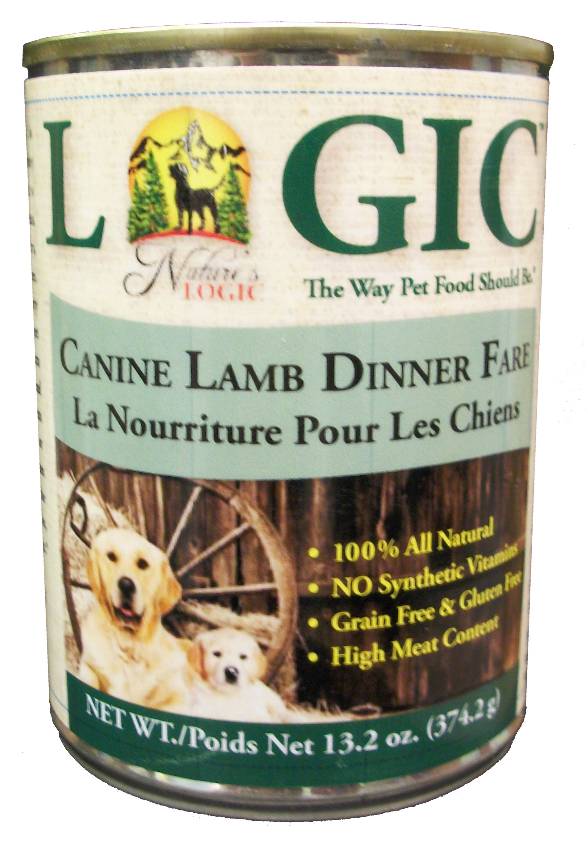Nature's Logic Canned Lamb Diet