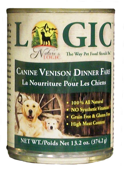 Nature's Logic Canned Venison Diet