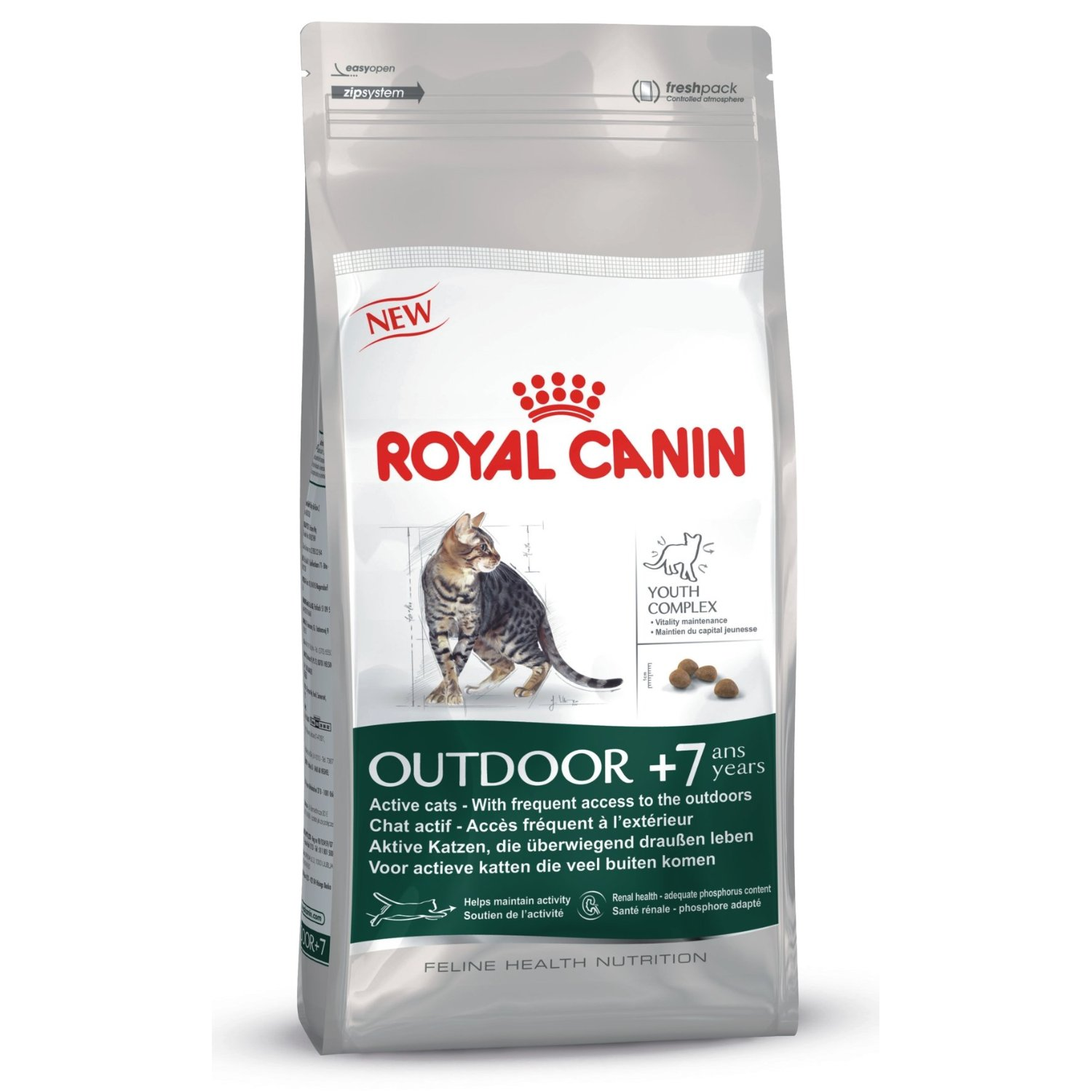 Royal Canin Outdoor +7 Cat Food
