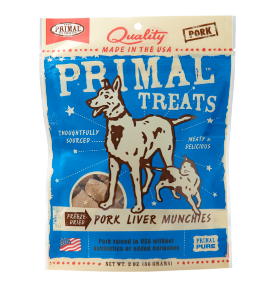 Primal Freeze Dried Pork Munchies 2oz