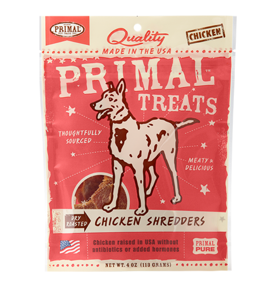 Primal Dry Roasted Chicken Shredders 4oz
