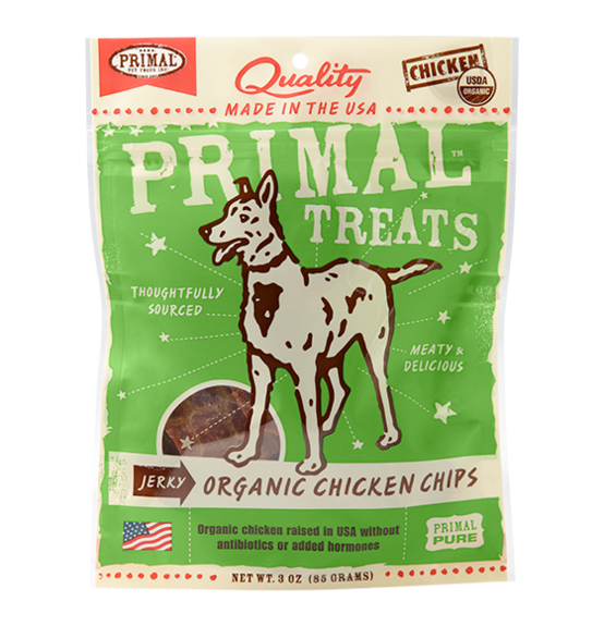 Primal Jerky Organic Chicken Chips 3oz