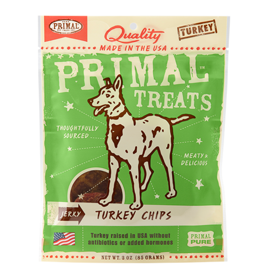 Primal Jerky Turkey Chips 3oz