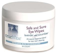 Safe and Sure Eye Wipes - 50 pads
