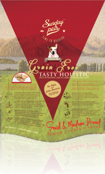 Sunday PetsTasty Holistic Grain Free Senior 3.3lb