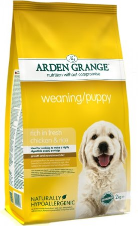 Arden Grange Weaning /Puppy rich in Fresh Chicken 4.4lb