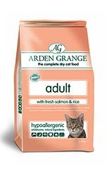 Arden Grange Adult Cat w/Fresh Salmon & Rice 5.5lb