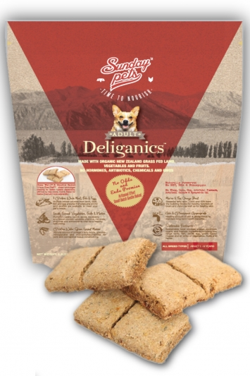 Sunday Pets Delicious Organic Adult 3.3lb
