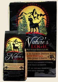 Nature's Logic Canine Dry Duck & Salmon 4.4lb