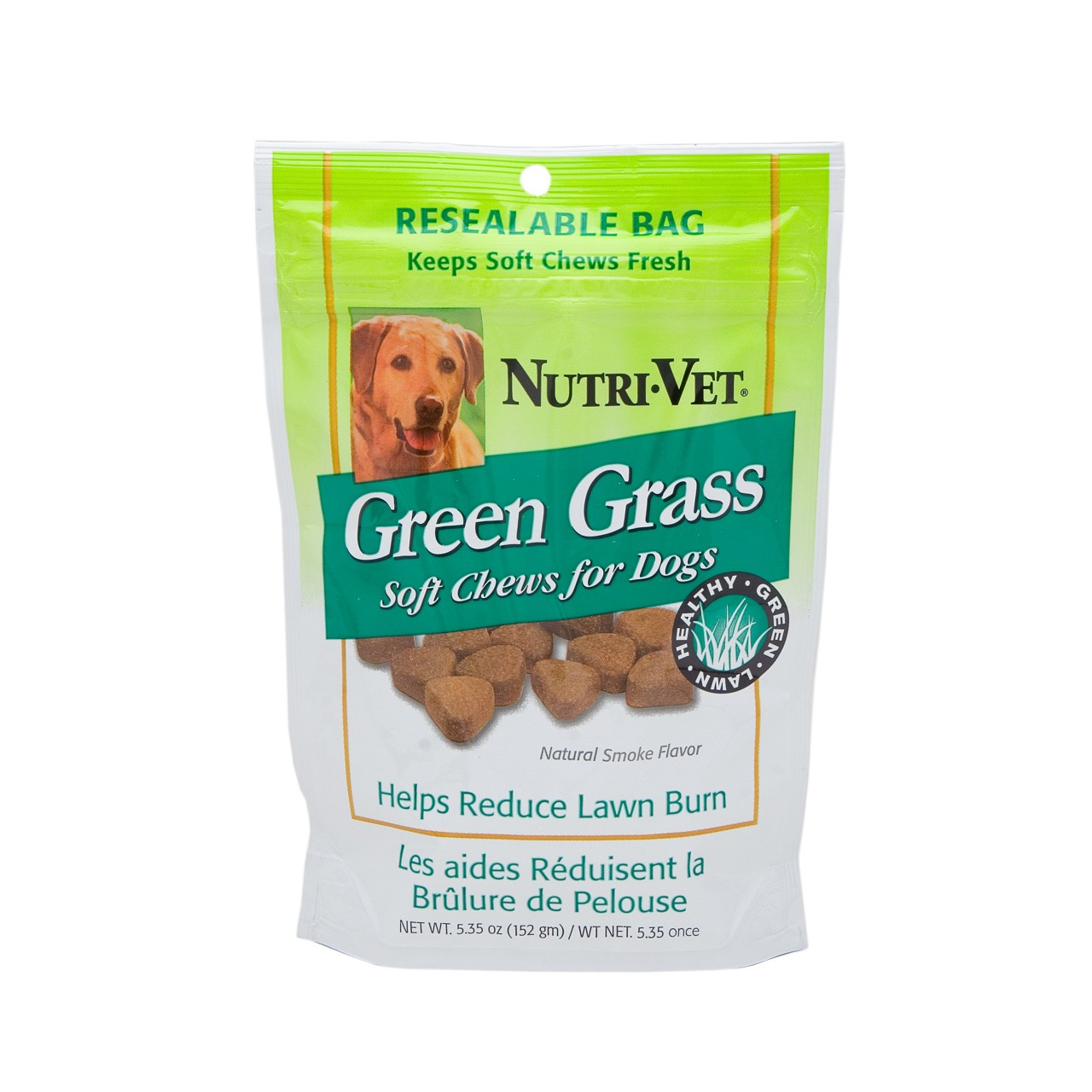 Nutri-Vet Green Grass Soft Chews for dogs