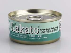 Kakato Tuna & Seaweed Canned Food (70g)