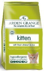 Arden Grange Kitten w/Fresh Chicken & Rice 5.5lb