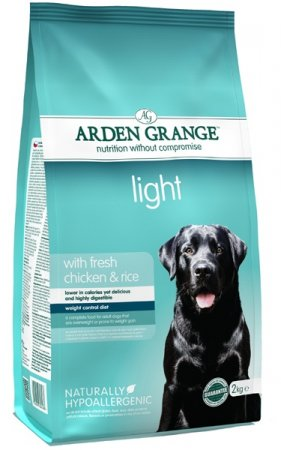 Arden Grange Adult dog Light w/Fresh Chicken & Rice 4.4lb