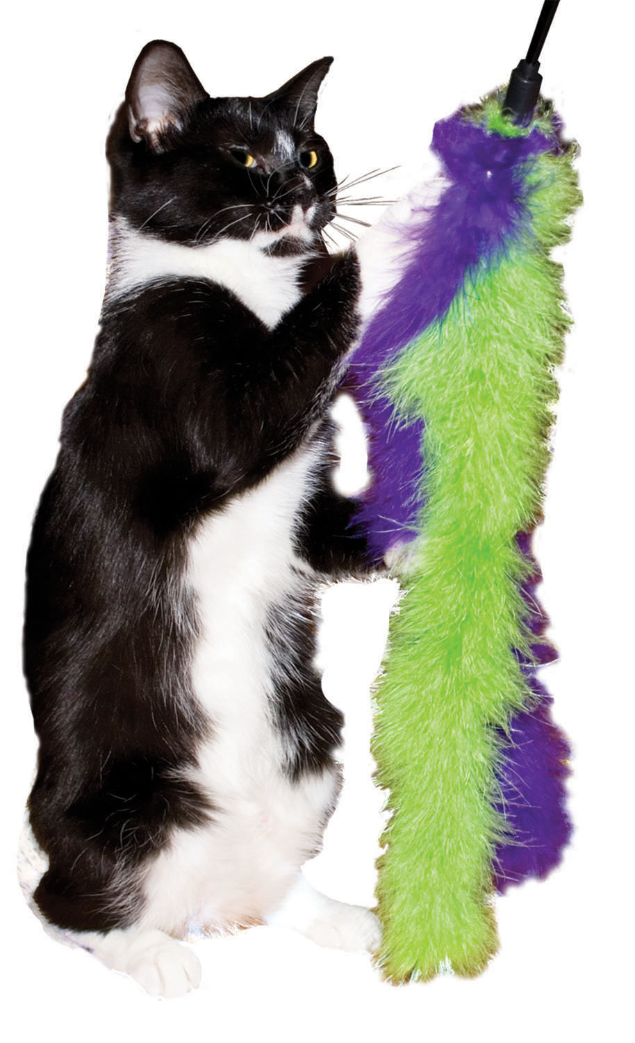 Imperial Cat Marabou Wand