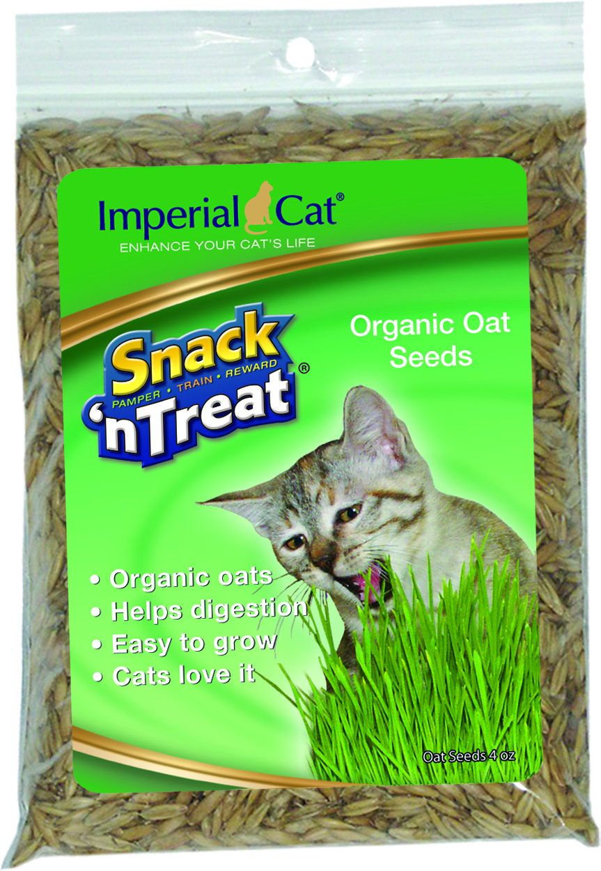 Imperial Cat Organic Oat Seeds