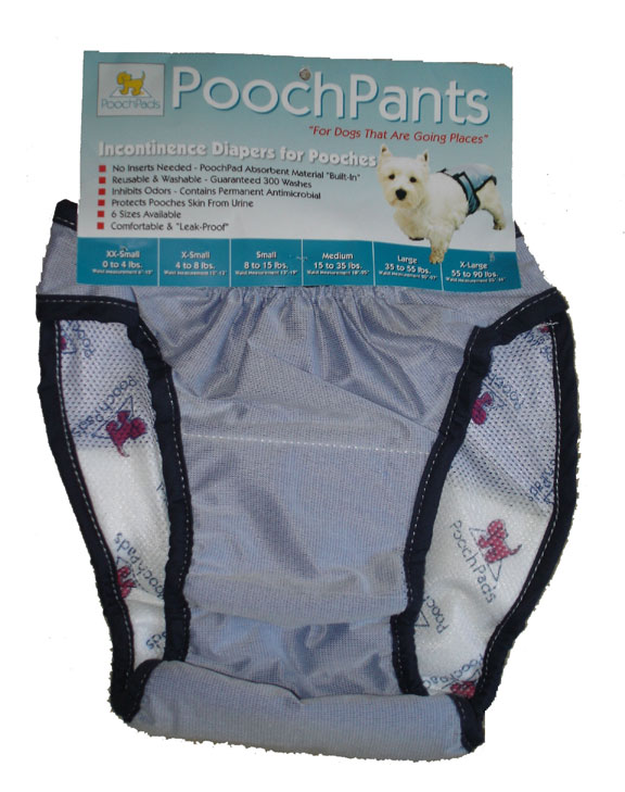 PoochPad Diapers for Dogs PPNT Female xs