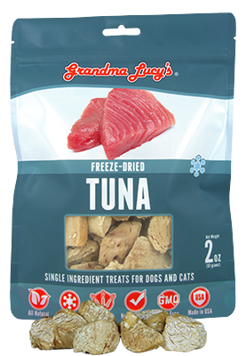 Grandma Lucy's Freeze-Dried Just Tuna PetTreats-2oz