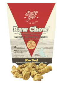 Sunday Pets Raw Chow Beef for Dog 1lb