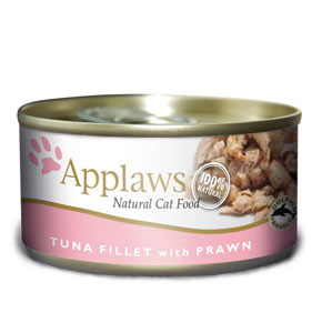 Applaws Tuna Fillet & Prawn Canned Cat Food (70g)