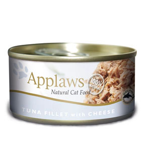 Applaws Tuna Fillet & Cheese Canned Cat Food (70g)