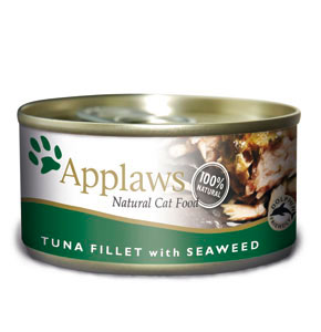 Applaws Tuna Fillet & Seaweed Canned Cat Food (70g)